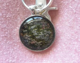 Lilac Fields Keychain