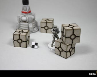 8 crates pack designed for Imperial Assault boardgame