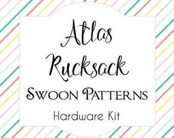 Atlas Rucksack - Swoon Hardware Kit - D-Rings