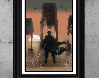 Luke versus The First Order