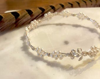 Pearl-Beaded Bracelet