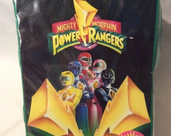 Vintage Power Rangers Character Carry Case Toys 1994