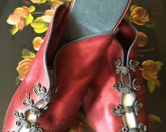 1940's Daniel Green Boudoir Slippers