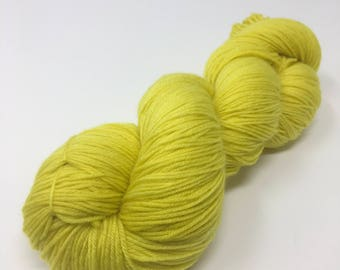 Zap Indie Dyed Yarn on Merino cashmere Nylon MCN gold brown tonal