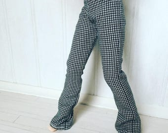 Black Check trousers for Blythe