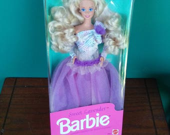 Sweet Lavender Barbie doll Woolworth Special Limited Edition vintage New in box