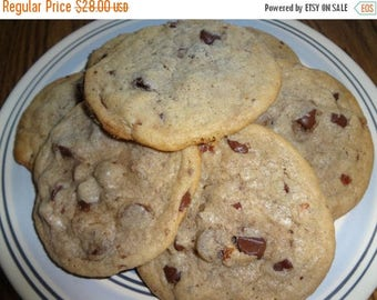 ON SALE: Ultra Chewy Homemade Bacon Chocolate Chip Cookies (30 Cookies)