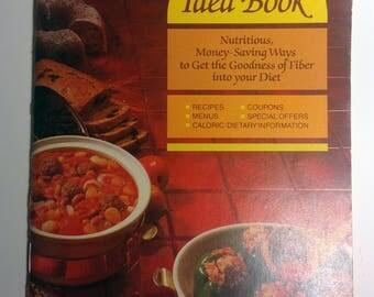 80s Recipe Book,Bran Book,80s Health Book,Bran Recipes,Kelloggs Recipes,Kelloggs Book,Kelloggs,80s Diet Book,80s Ephemera,Recipe Book,Bran