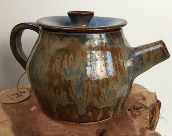 Multicolored Tea Pot 26 oz