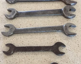 5 Antique Wrenches