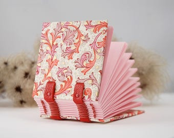 Small notebook, mini book, gift, mini, Coptic bound journal, diary