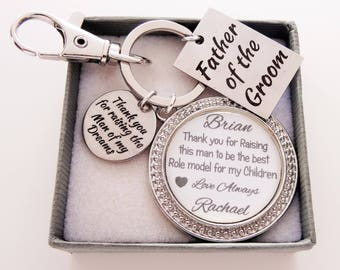 Father of the Groom - Man of my dreams gift father of the groom gift grooms father gift wedding gift for father of the groom personalized