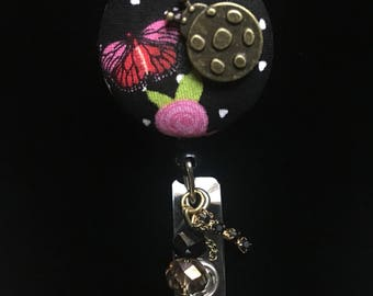Ladybug Bronze-Nurse Retractable ID Badge Reel/ RN Badge Holder/Doctor Badge Reel/Nurse Badge Holder/Nursing Student Gifts