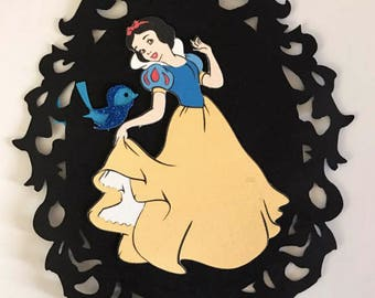 Snow White Invitations, Snow White Birthday Party, Snow White Princess,
