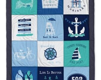 Harwich MA Destination Blanket