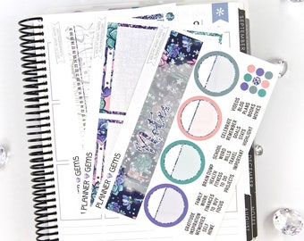 Wild at Heart Monthly Notes Page Planner Kit | ~100 Stickers | Planner Stickers | For Erin Condren LifePlanner