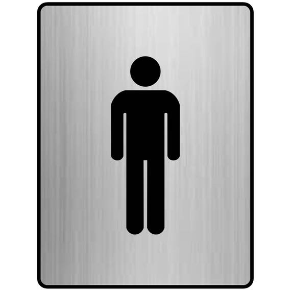 Bathroom Signs Nz wc sign plastic toilet sign with figures bathroom sign