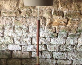 Upcycled Retro Floor Lamp.