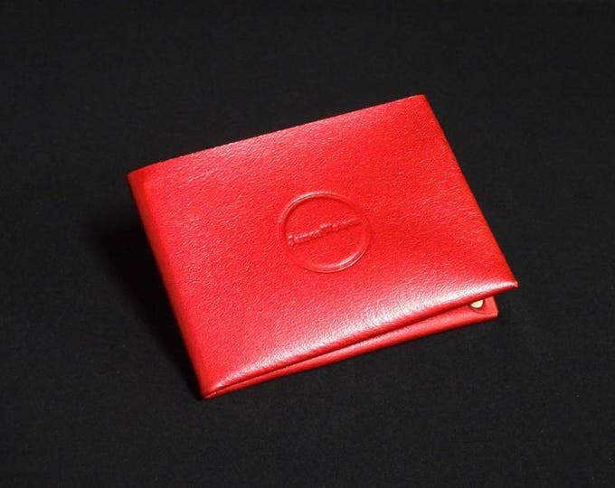 6-Pocket Wallet - Candy Red - Kangaroo leather with RFID credit card blocking - Handmade - Mens/Womens - James Watson