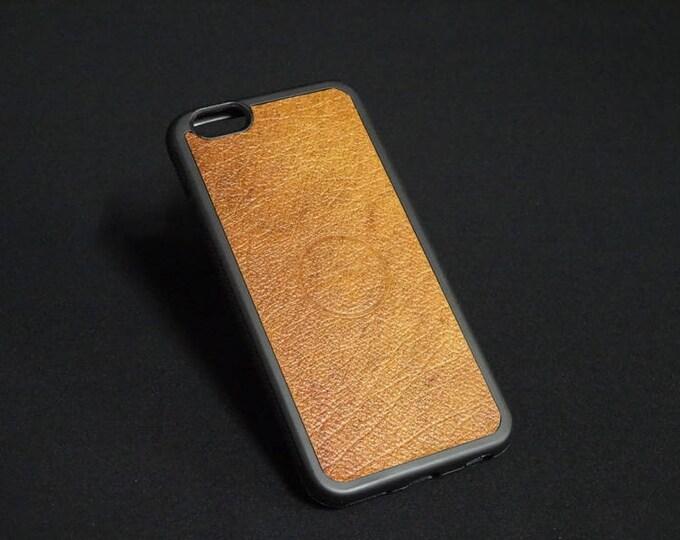 Apple iPhone 6 6S - Jimmy Case in Oak Texture - Kangaroo leather - Handmade - James Watson