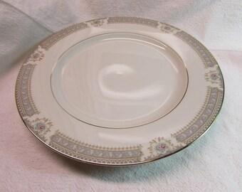 Mikasa Ivory China Pattern Chop Plate