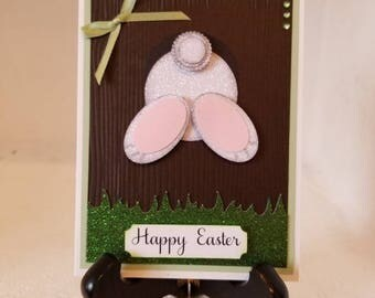 Happy Easter Bunny Butt card,  will definitely make you smile!