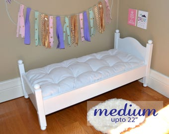 Custom Doll Bed Mattress (Medium) / Custom Doll Bed