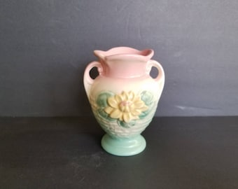Vintage Hull Pottery Water Lily Vase L-1-5 1/2