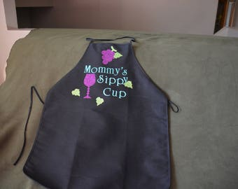 Apron Mommy's Sippy Cup