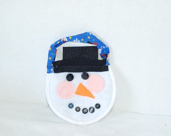 snowman purse, handbag, handmade purse, christmas purse, snowman, holiday, christmas purse, kid bag, kids purse, white purse, white bag