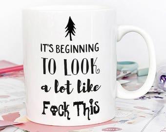 Christmas Gift Mug, Sassy Mug, Curse Word Mug, Bad Word Mug, Funny Gift, Mature, Funny Gift exchange, statement mug
