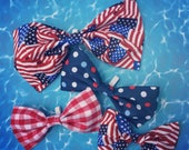 Fourth of July Collar Bow tie