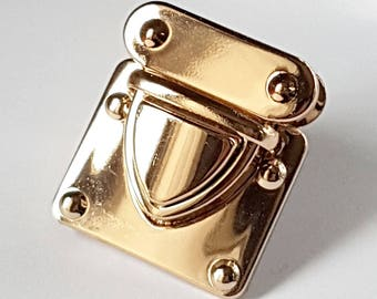 No.6 - Clasp tuck color rose gold for Briefcase bag
