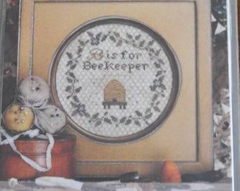 B is for Beekeeper by Heartstring Samplery