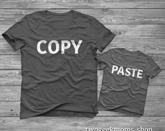 Copy Paste - Parent/Child Shirts - Father's Day or Mother's Day
