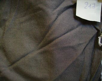 NO. 217-FABRIC COTTON POLYESTER EFFECT GLOSS - THICK