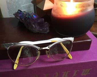 Cat Eye Glasses, Vintage Eyewear, Cat Eyeglasses, Cat Eye Frames, Vintage Eyeglasses, Whitney Eyeglasses, Whitney Cat Eye, Retro Eyeglasses