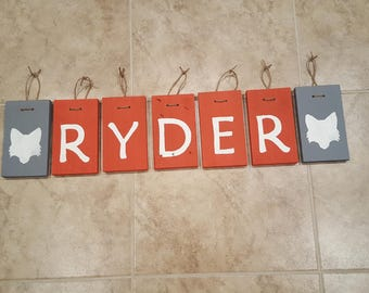 Custom/ Personalized Name/ Word Block Sign