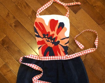 Flower Towel Apron