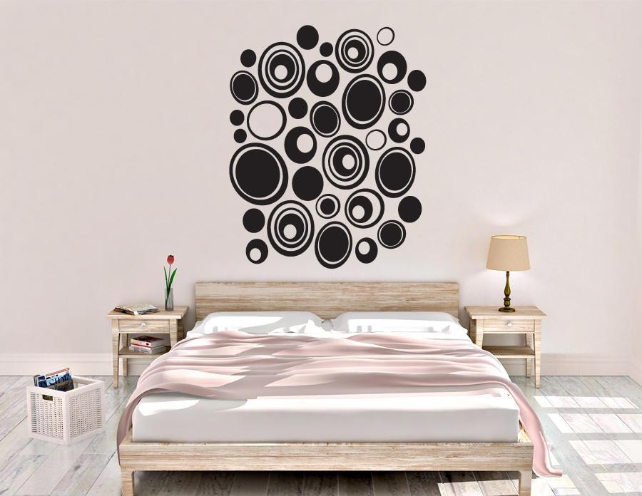 Pebble Wall Decal - Dots Wall Decor - Vinyl Wall Decal - Wall ...