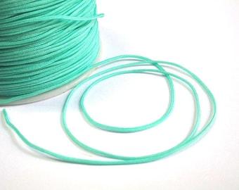 5 m of water green nylon thread woven 1 mm