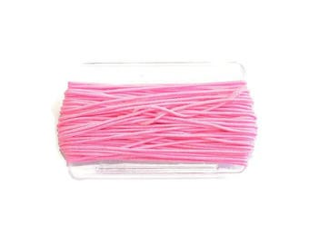 8.30 m nylon elastic 1 mm pink