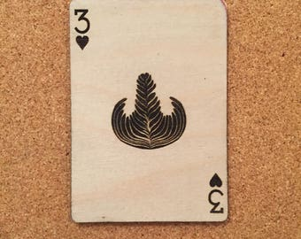 Three of hearts - Rosetta