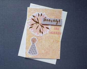 Hooray 18th Card  FREE SHIPPING