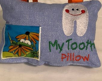Small Tooth Fairy Pillow