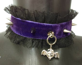 Halloween collars - bdsm pet play little