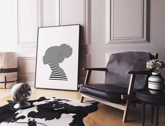 Modern Wall Art, Op Art, Cool Posters, Woman Art, Wall Prints, Modern  Minimalist, Gallery Wall, Affiche Scandinave, Black White Prints Part 26