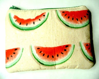 New coin purse with watermelon