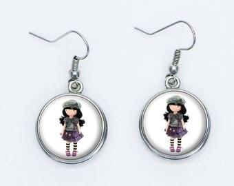 Doll Hat earrings