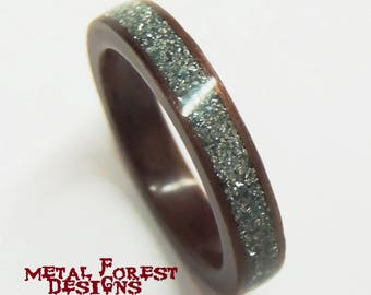 Hand Crafted Bentwood Rings by MetalForestDesigns on Etsy